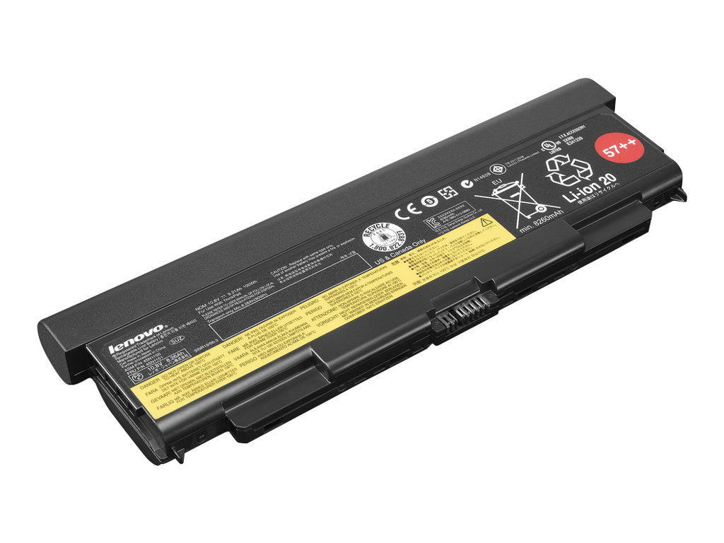 Lenovo ThinkPad Battery 57++ - notebook battery - Li-Ion - 100 Wh