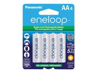 Panasonic eneloop BK-3MCCA4BA battery - 4 x AA type - NiMH