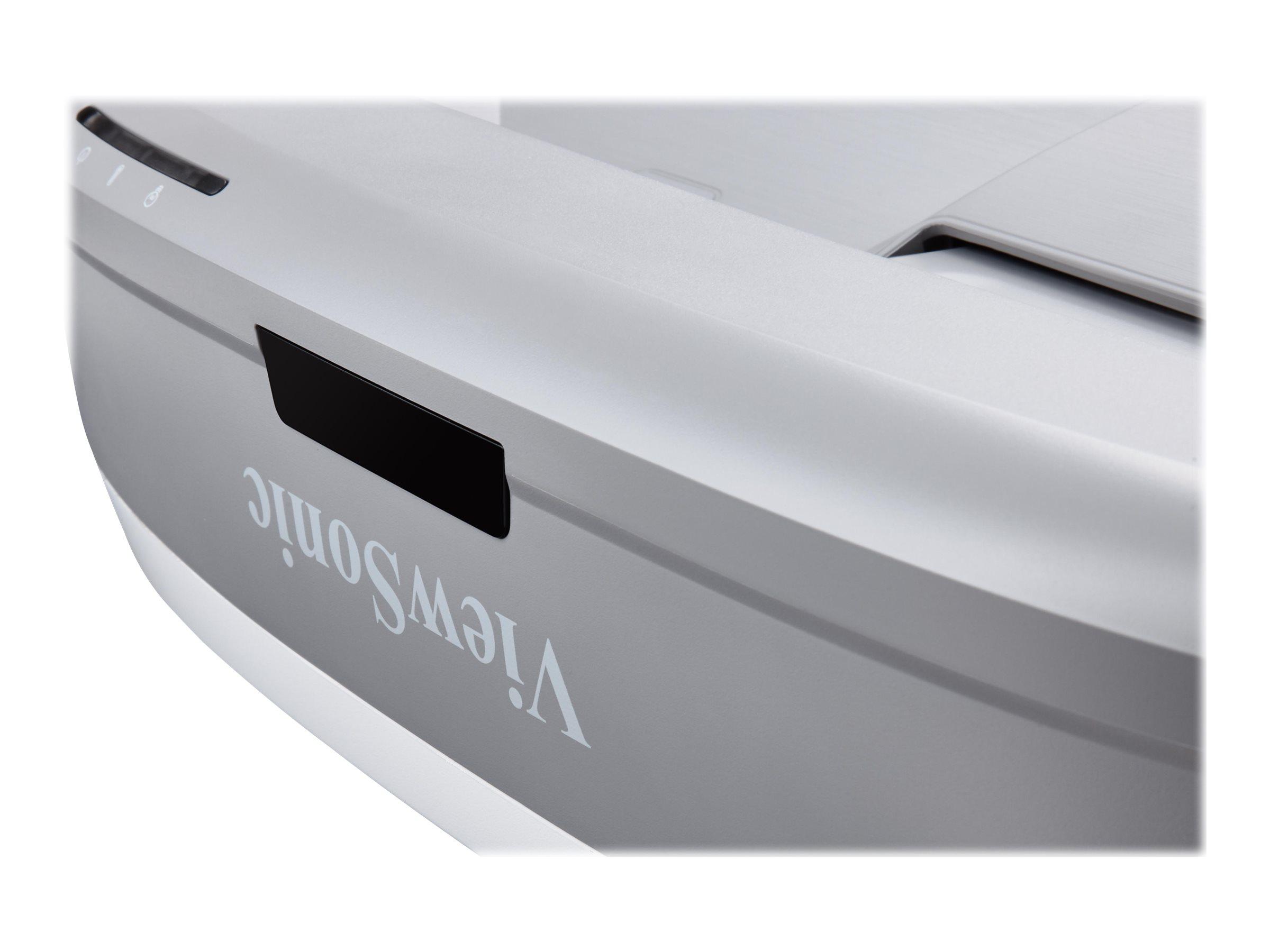 ViewSonic PS700W - DLP projector - ultra short-throw - 3D