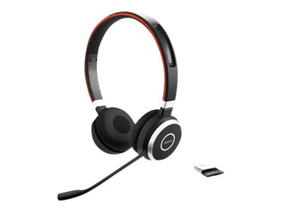 Jabra Evolve 65 UC stereo - headset...