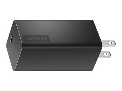 Lenovo USB-C GaN - power adapter - 65 Watt