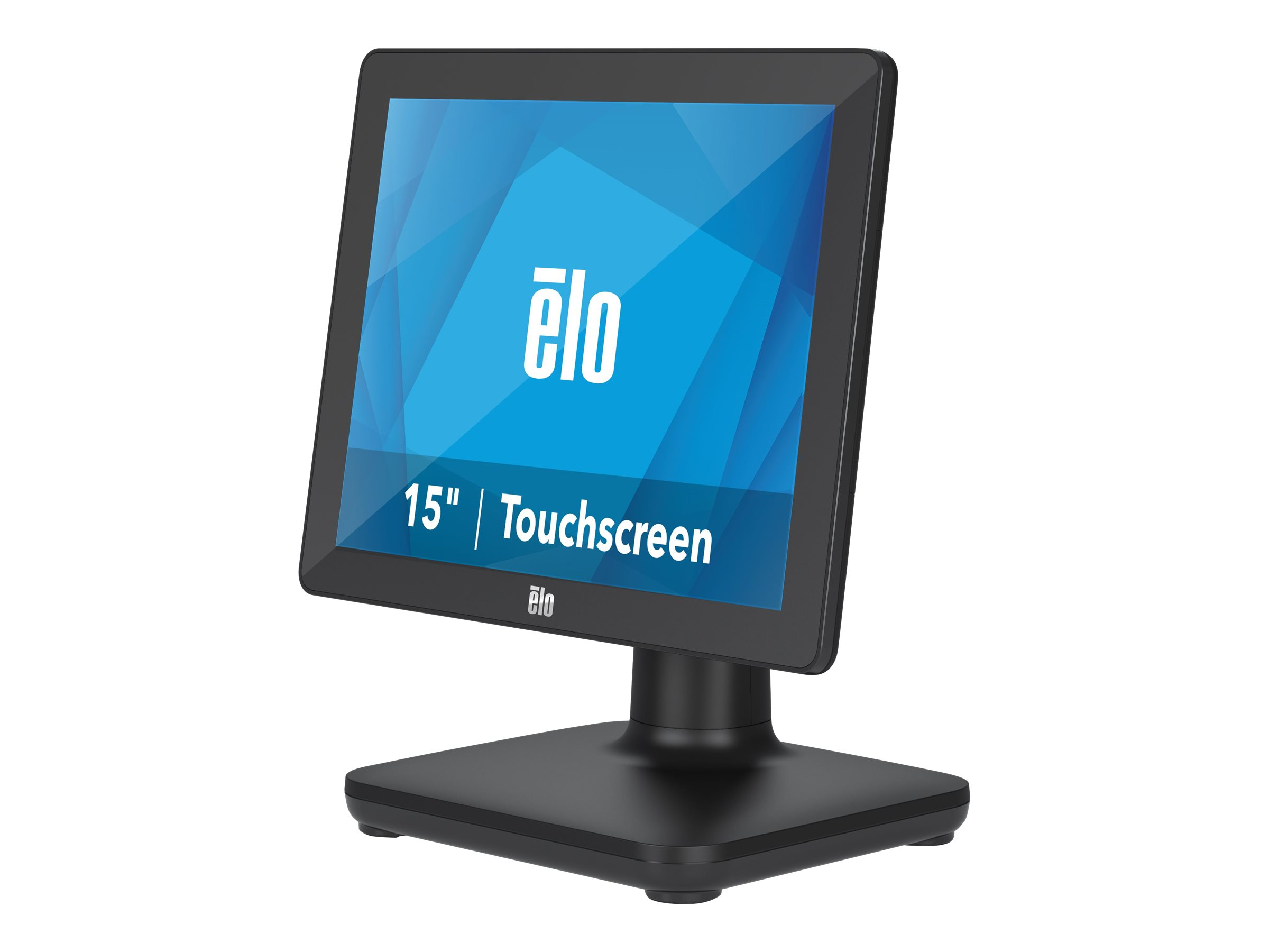 EloPOS System - with I/O Hub Stand - all-in-one - Celeron J4105 1.5 GHz - 4 GB - SSD 128 GB - LED 15