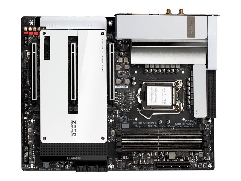 Gigabyte Z590 VISION D - 1.0 - motherboard - ATX - LGA1200 Socket - Z590