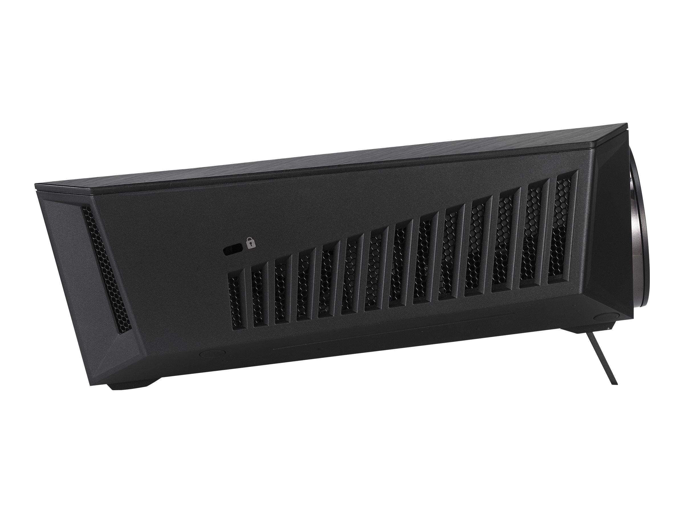 ASUS F1 - DLP projector - short-throw - portable - 3D - IEEE 802.11a/b/g/n wireless - black