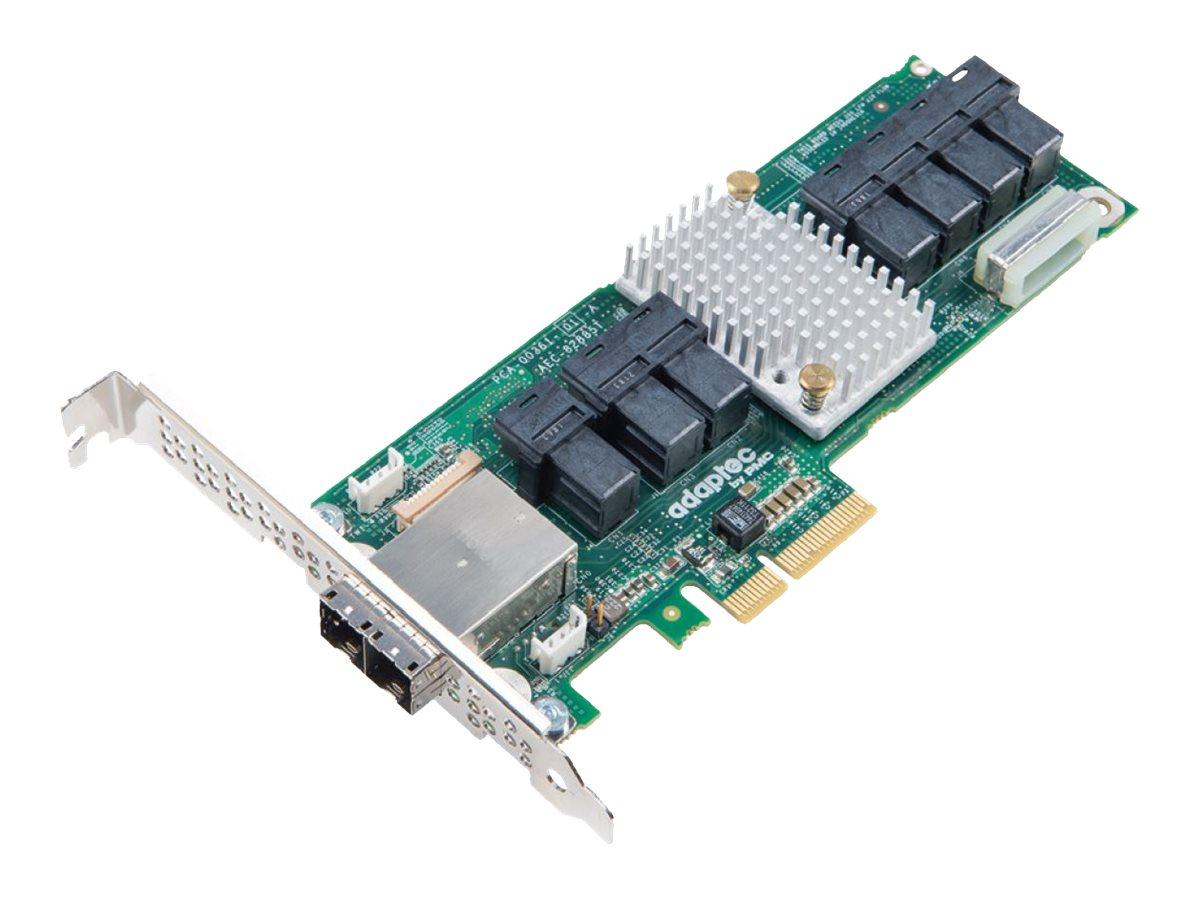 Microchip Adaptec 82885T - storage SAS bus extender - SATA 6Gb/s / SAS 12Gb/s - PCIe x4