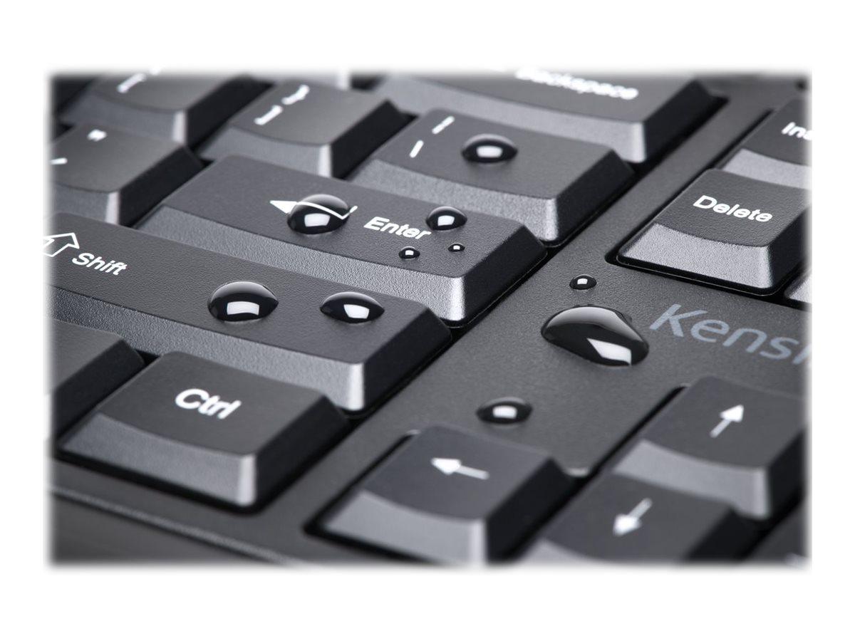 Kensington Pro Fit Low-Profile Desktop Set - keyboard and mouse set - US