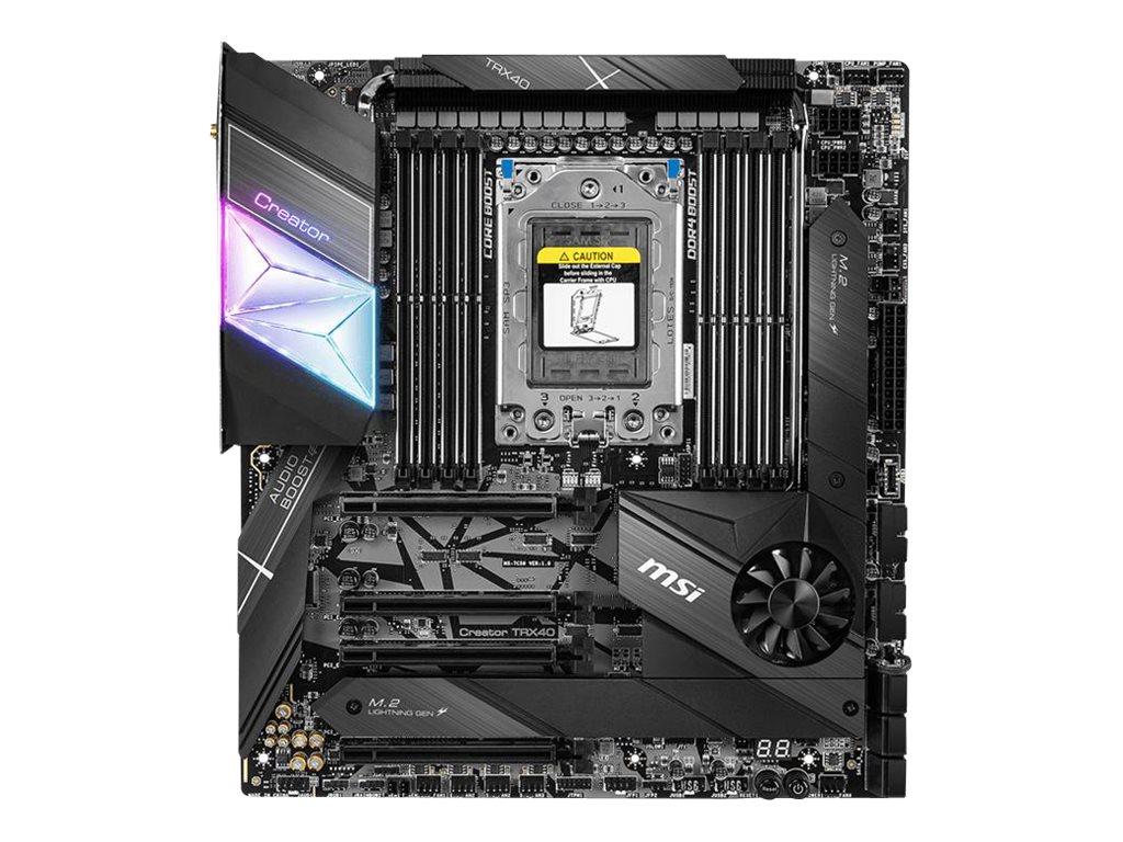 MSI Creator TRX40 - motherboard - extended ATX - Socket sTRX4 - AMD TRX40