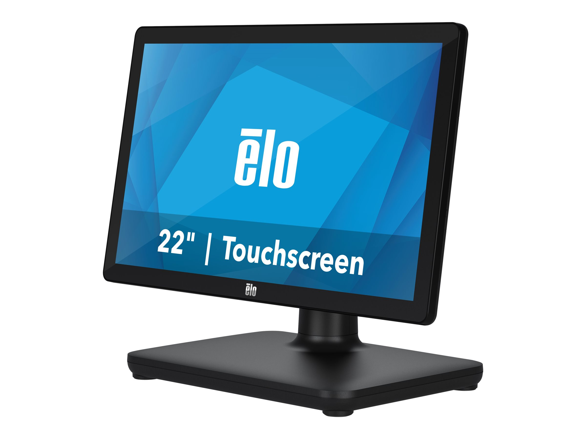 EloPOS System - with I/O Hub Stand - all-in-one - Celeron J4105 1.5 GHz - 4 GB - SSD 128 GB - LED 21.5