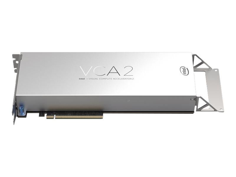 Intel Visual Compute Accelerator 2 VCA1585LMV - Intel Xeon E3-1585LV5 / 3 GHz processor board