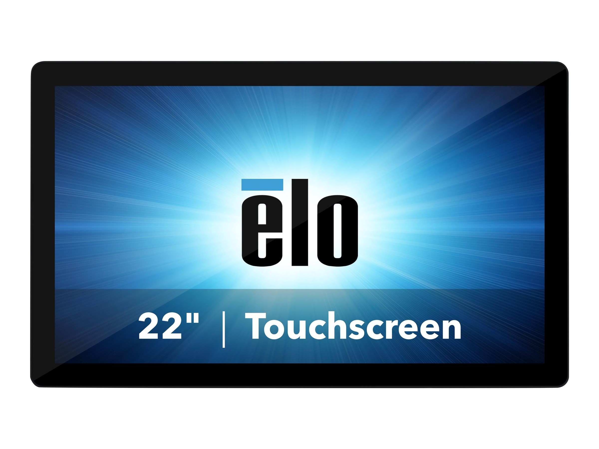 Elo I-Series 2.0 - all-in-one - Core i5 8500T 2.1 GHz - vPro - 8 GB - SSD 128 GB - LED 21.5