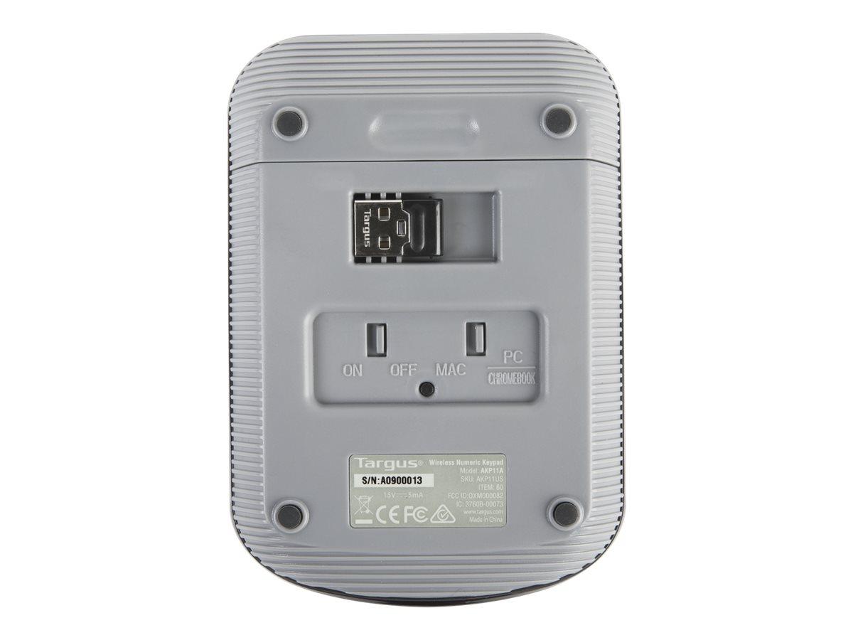 Targus Wireless Numeric - keypad - black