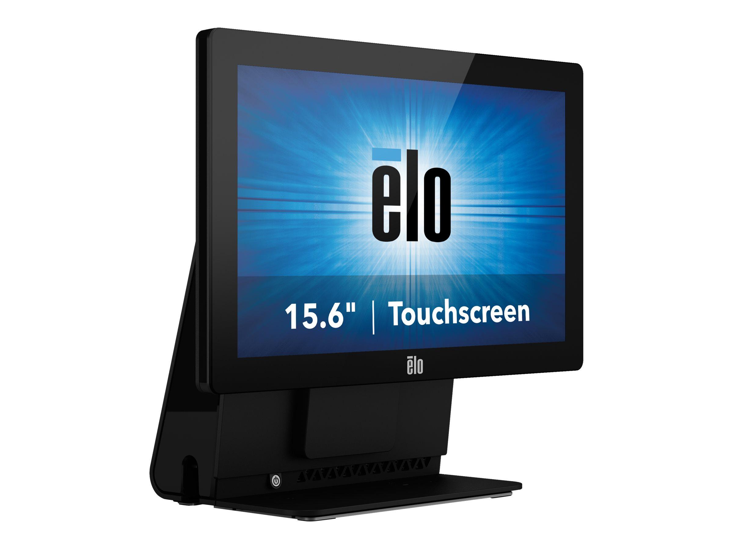 Elo Touchcomputer 15E2 - kiosk - Celeron J1900 2 GHz - 4 GB - SSD 128 GB - LED 15.6