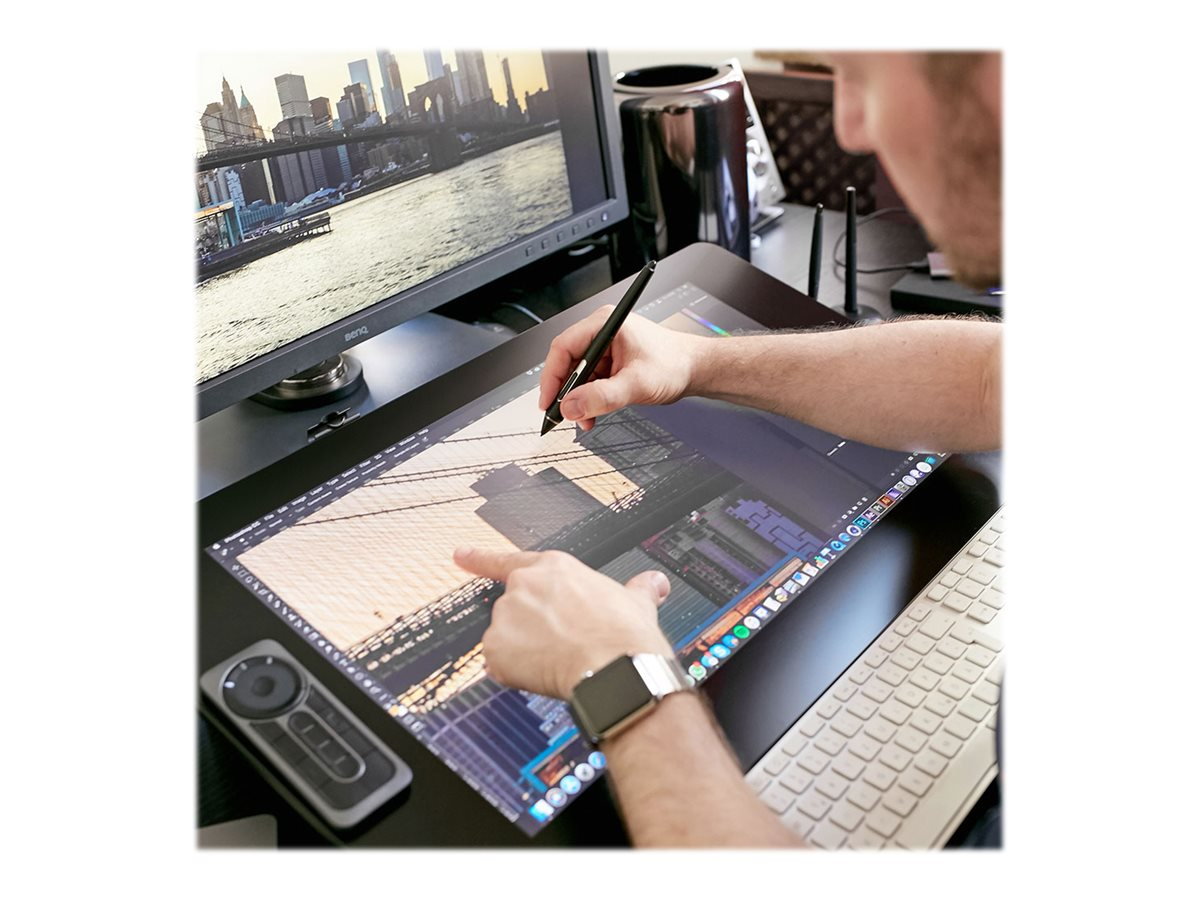 Wacom Cintiq Pro 24 Creative Pen & Touch Display - digitizer - USB, DisplayPort