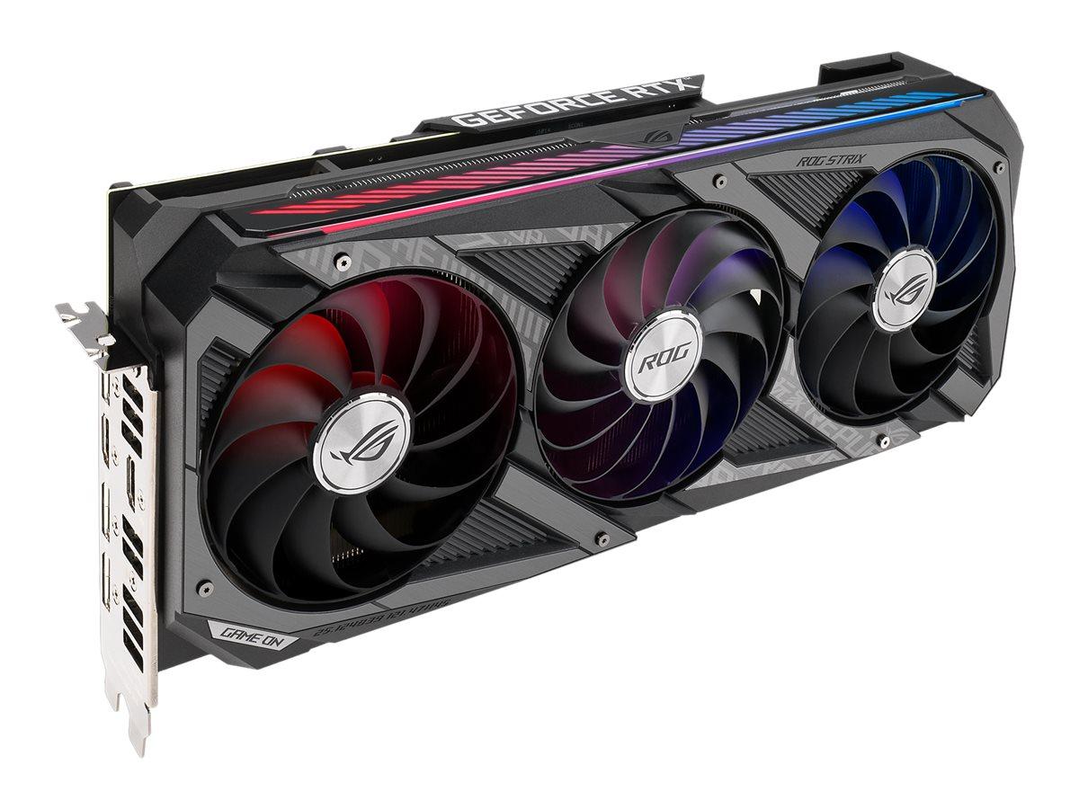 ASUS ROG-STRIX-RTX3070-8G-GAMING - graphics card - GF RTX 3070 - 8 GB