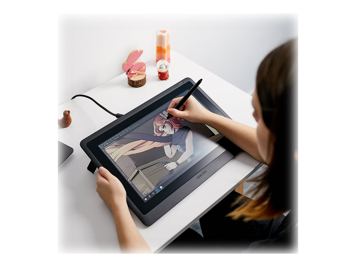 Wacom Cintiq 16 - digitizer - HDMI, USB 2.0