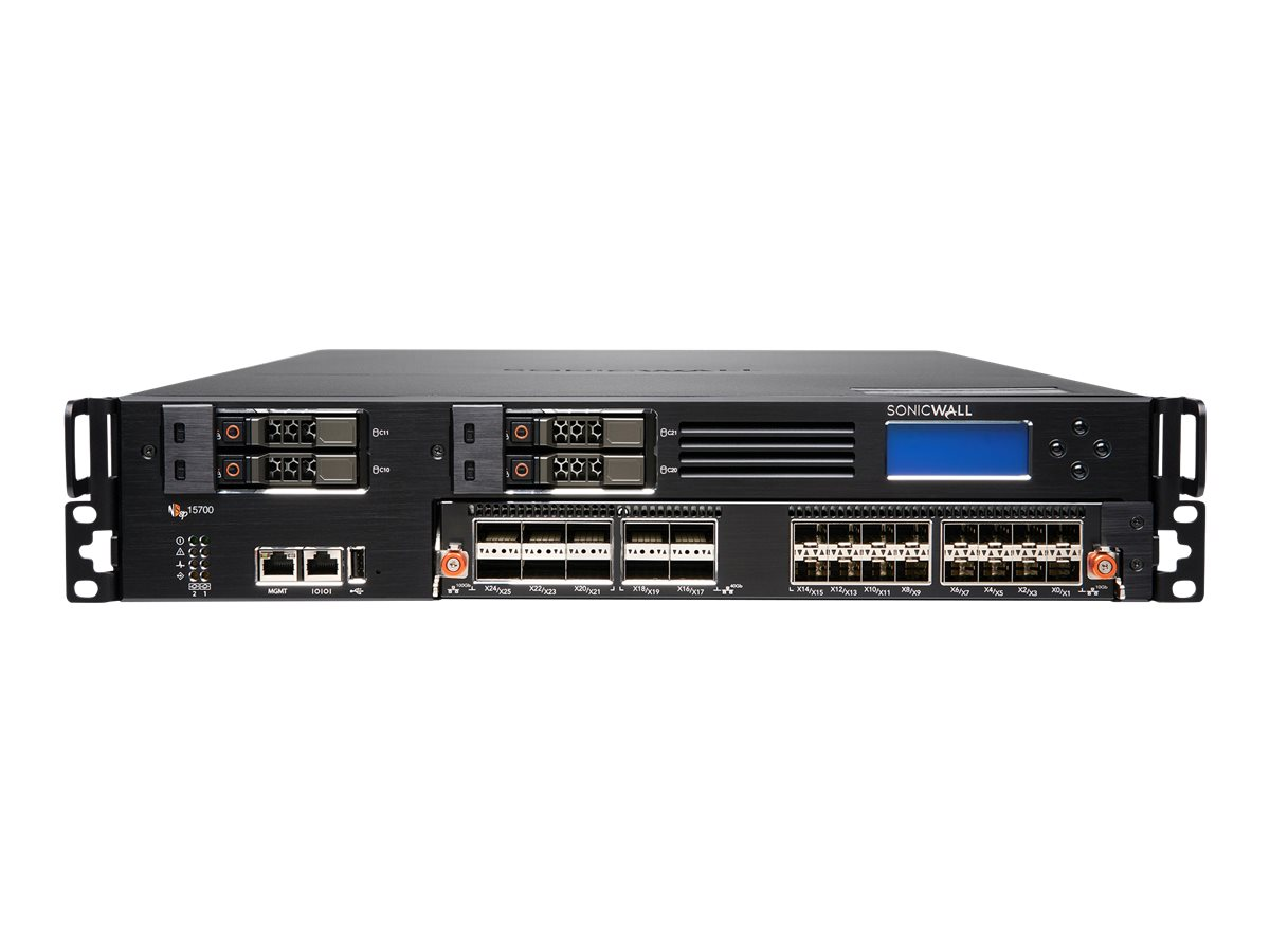 SonicWall Network Security services platform 15700 - High Availability - security appliance