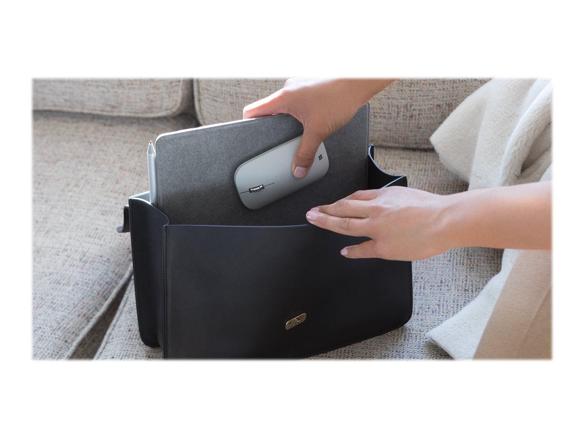 Microsoft Surface Mobile Mouse - mouse - Bluetooth 4.2 - platinum