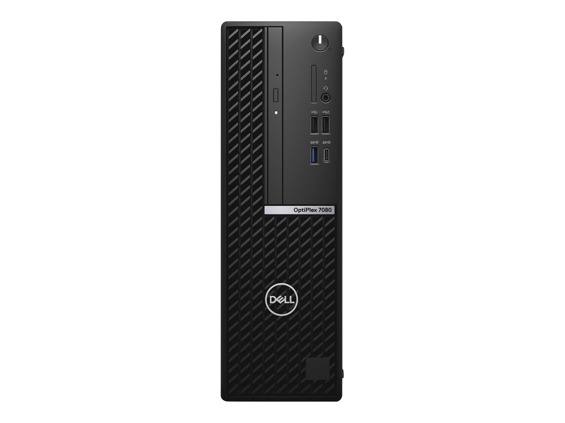 Dell OptiPlex 7080 - SFF - Core i5 10500 3.1 GHz - vPro - 16 GB - SSD 512 GB