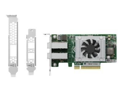 QNAP QXP-820S-B3408 - storage controller - SATA 6Gb/s / SAS 12Gb/s / PCIe 4.0 (NVMe) - PCIe 3.0 x8