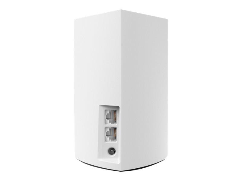 Linksys VELOP Whole Home Mesh Wi-Fi System WHW0103 - Wi-Fi system - 802.11a/b/g/n/ac, Bluetooth 4.1 - desktop