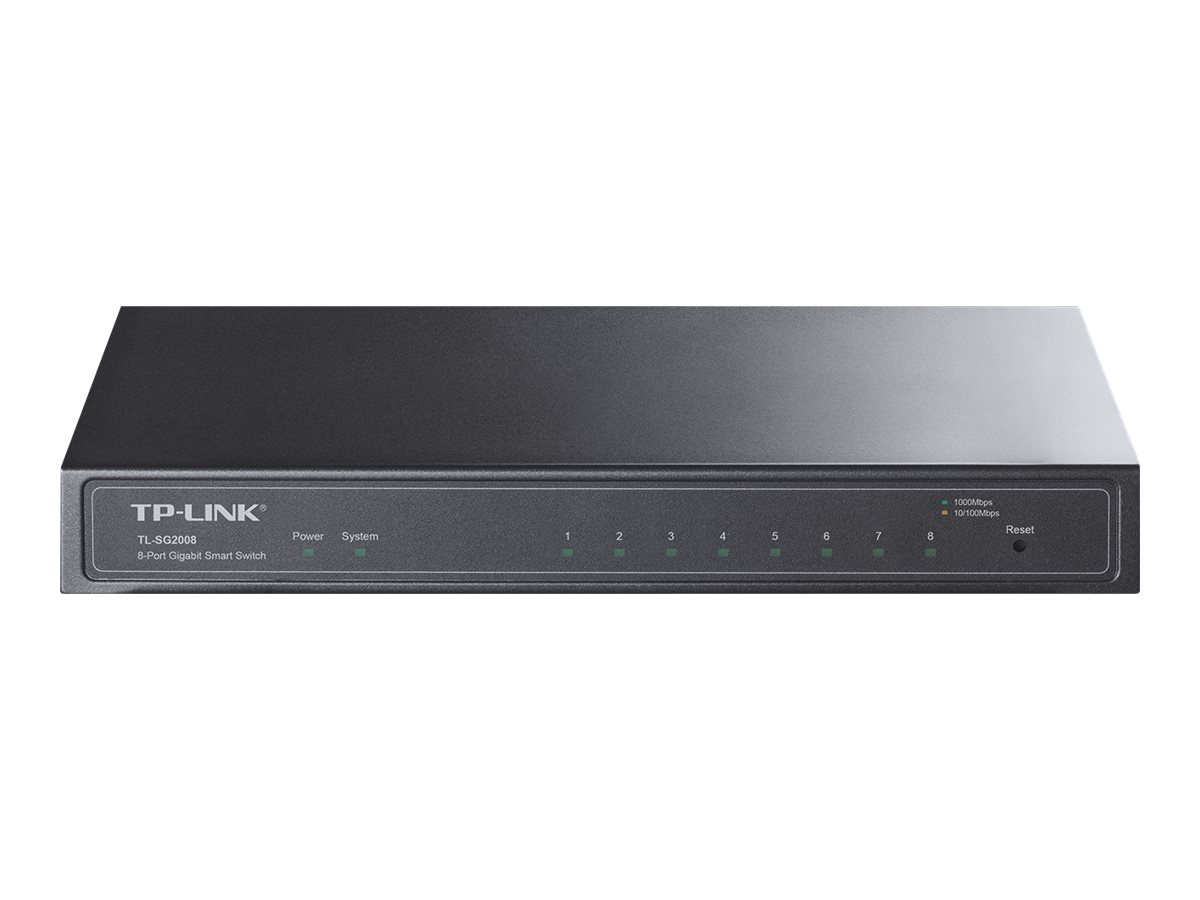 TP-Link TL-SG2008 - switch - 8 ports - managed