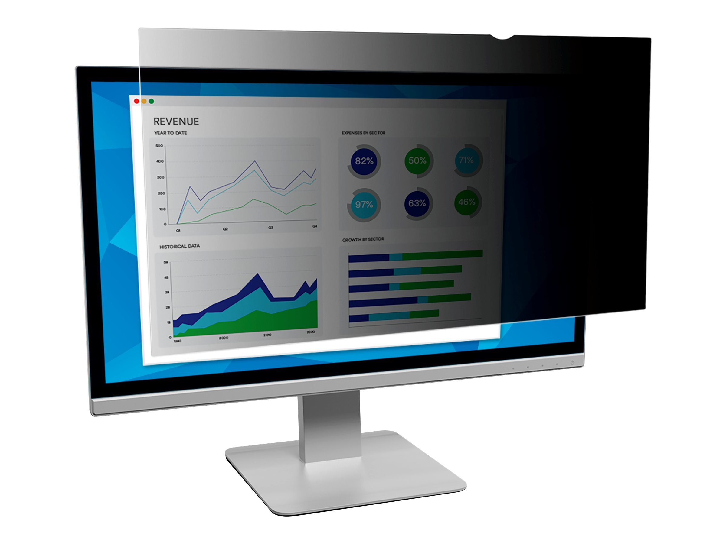 3M Privacy Filter for Dell OptiPlex 3240 All-In-One display privacy filter