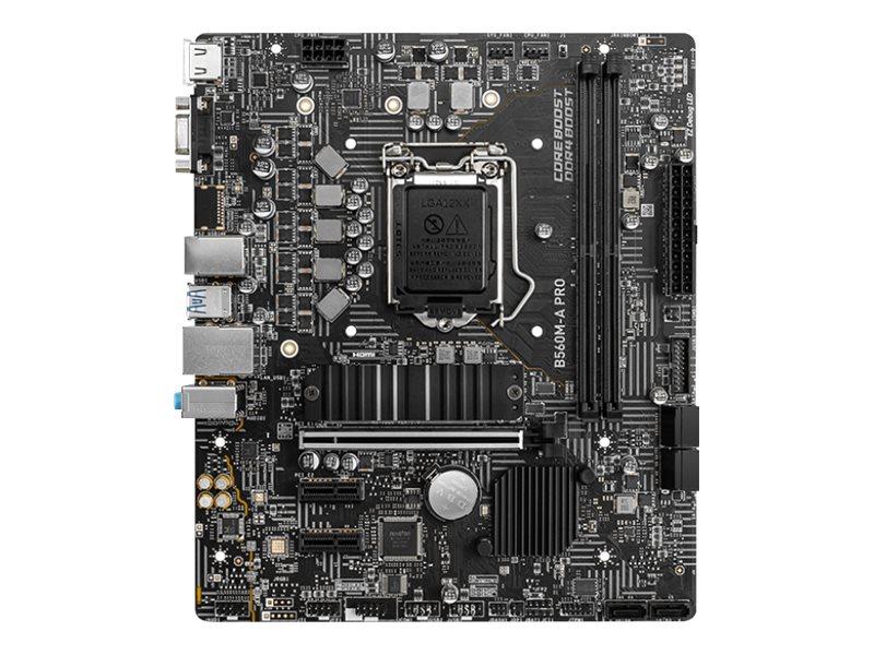 MSI B560M-A PRO - motherboard - micro ATX - LGA1200 Socket - B560