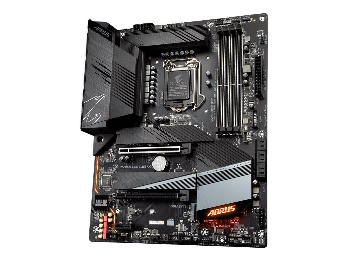 Gigabyte Z590 AORUS ELITE AX - 1.0 - motherboard - ATX - LGA1200 Socket - Z590