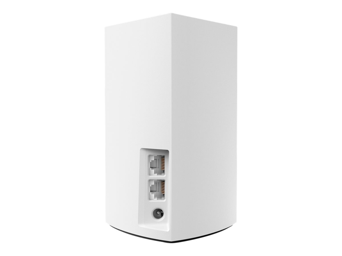Linksys VELOP Whole Home Mesh Wi-Fi System WHW0102 - Wi-Fi system - 802.11a/b/g/n/ac, Bluetooth 4.1 - desktop