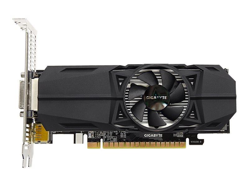 Gigabyte GeForce GTX 1050 Ti OC 4G - graphics card - GF GTX 1050 Ti - 4 GB
