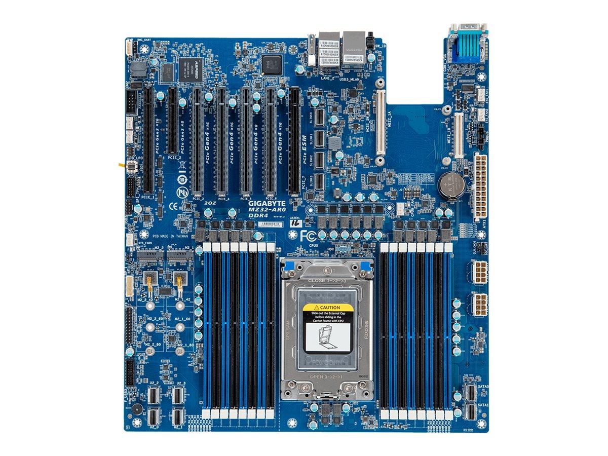 Gigabyte MZ32-AR0 - 1.0 - motherboard - extended ATX - Socket SP3