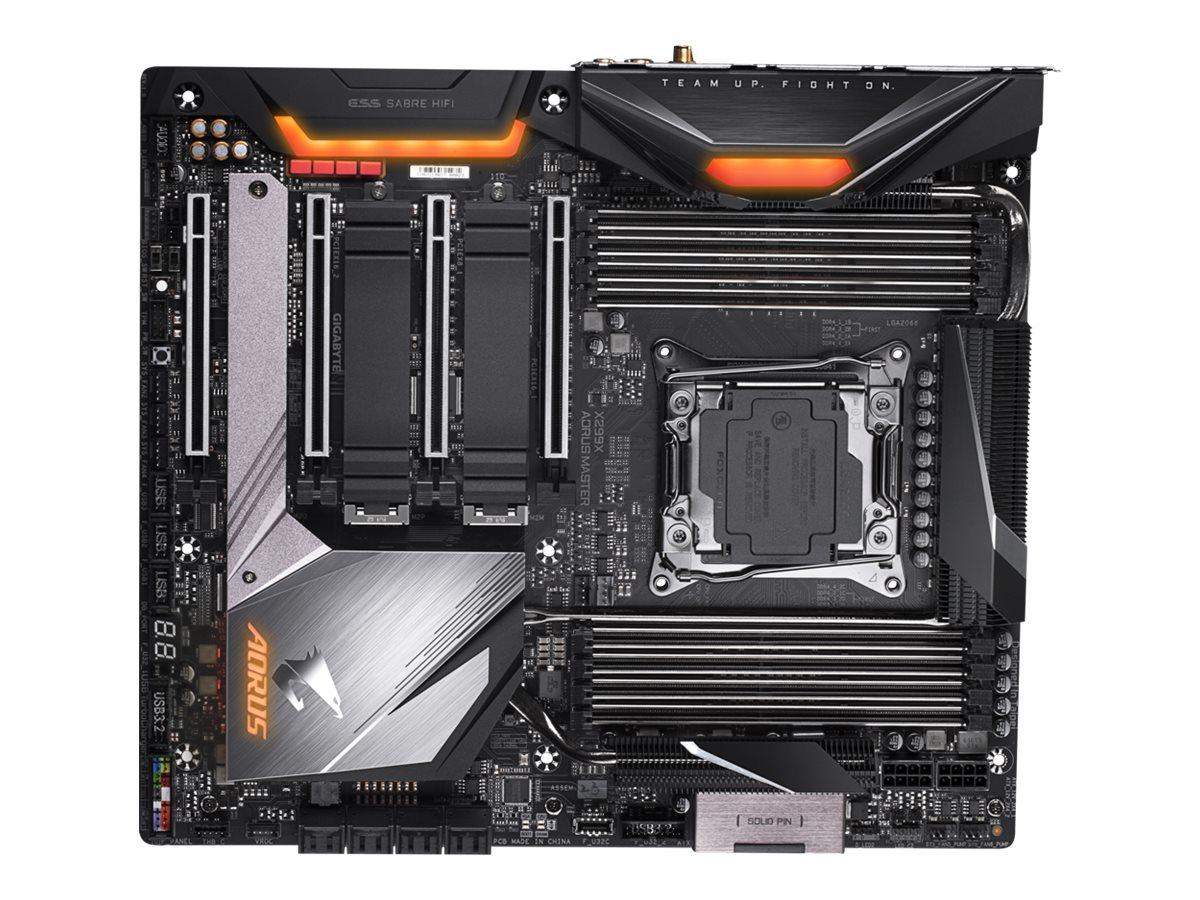 Gigabyte X299X AORUS MASTER - 1.0 - motherboard - extended ATX - LGA2066 Socket - X299
