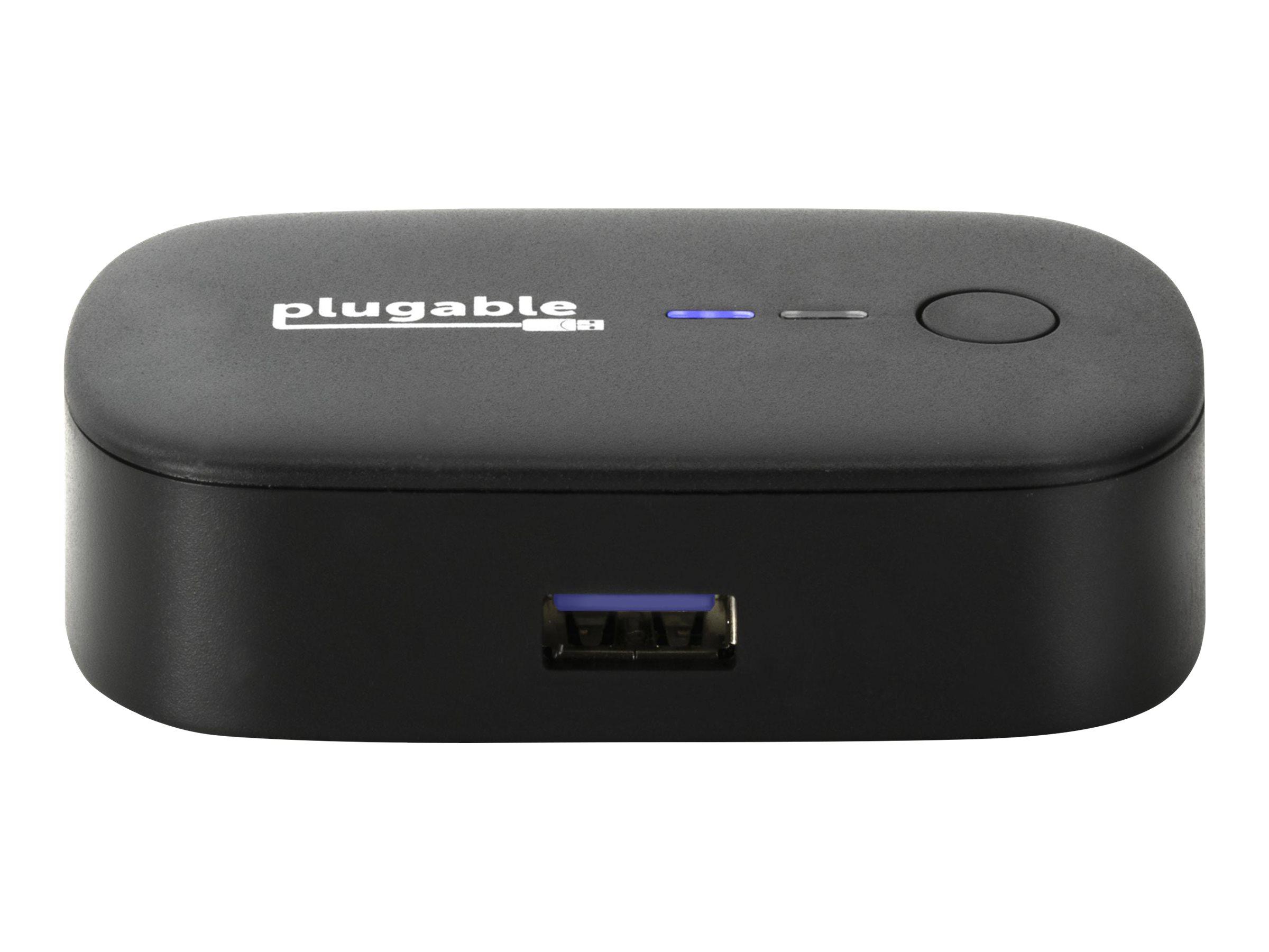 Plugable - USB peripheral sharing switch - 2 ports