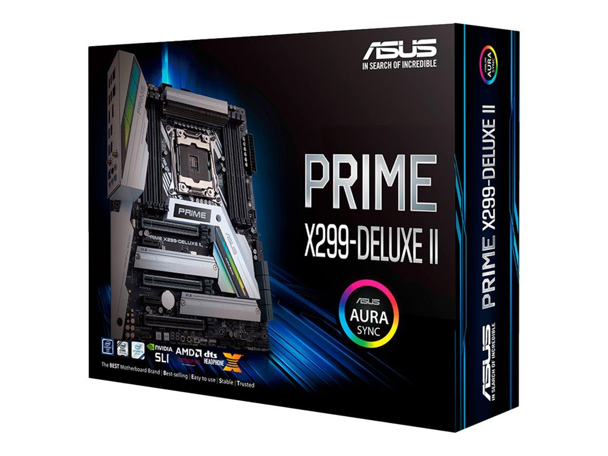 ASUS PRIME X299-DELUXE II - motherboard - ATX - LGA2066 Socket - X299