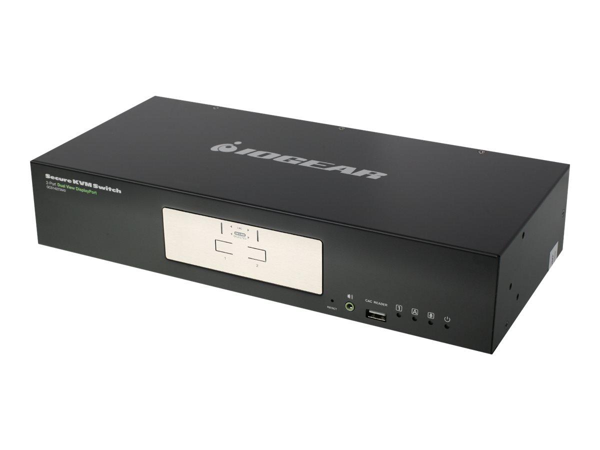 IOGEAR Dual View DisplayPort Secure KVM series GCS1422TAA3 - KVM / audio switch - 2 ports
