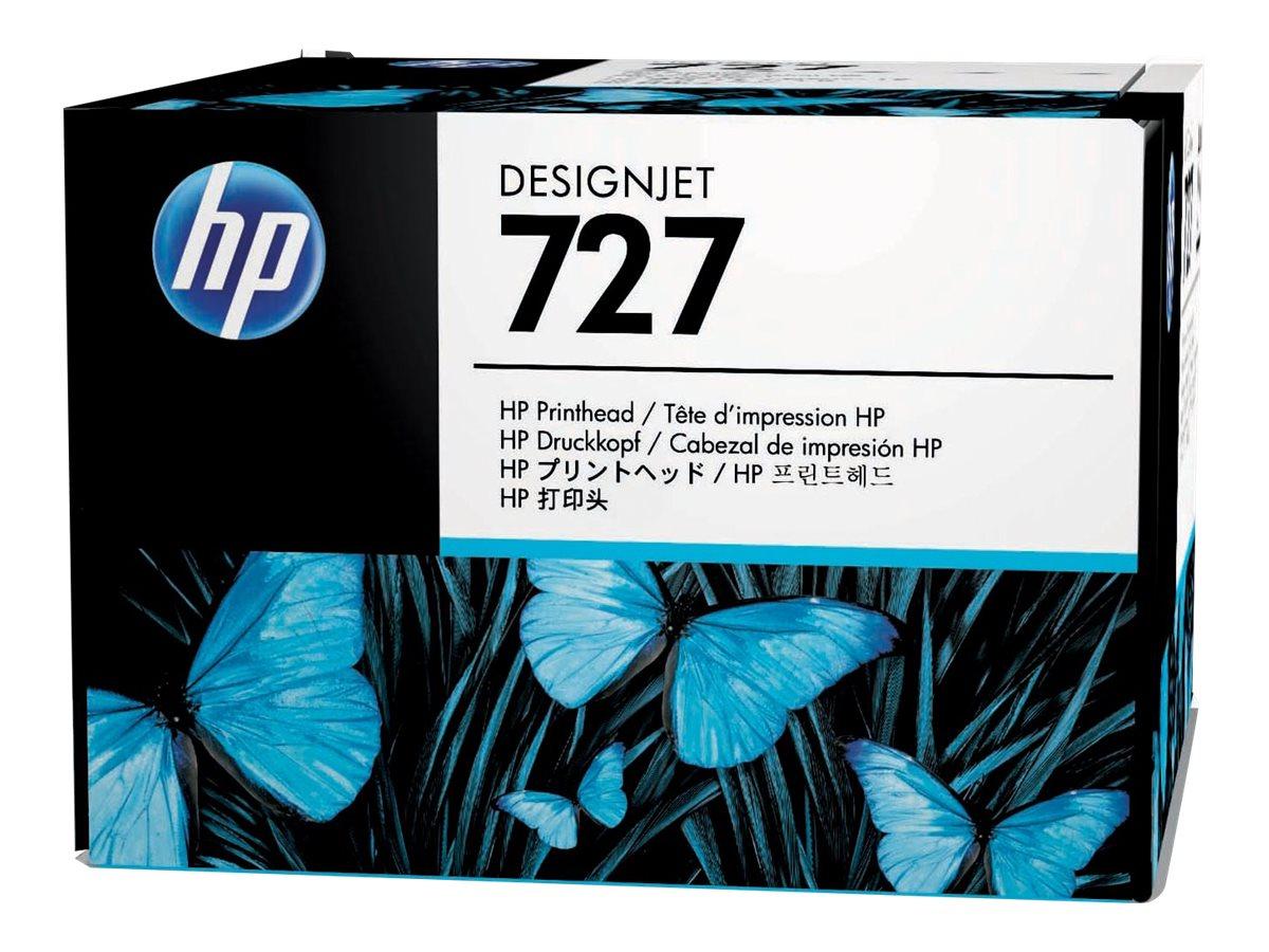HP 727 - gray, yellow, cyan, magenta, matte black, photo black - printhead