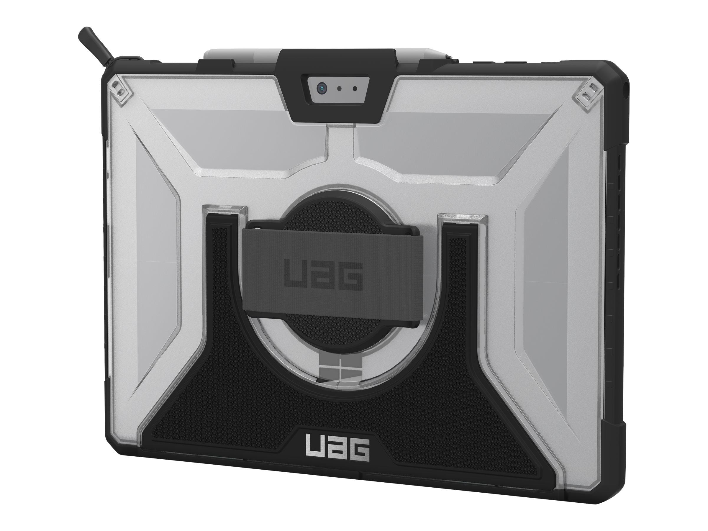 UAG Rugged Case for Surface Pro 7+/7/6/5/LTE/4 w/ Handstrap & Shoulder Strap - Ice - back cover for tablet