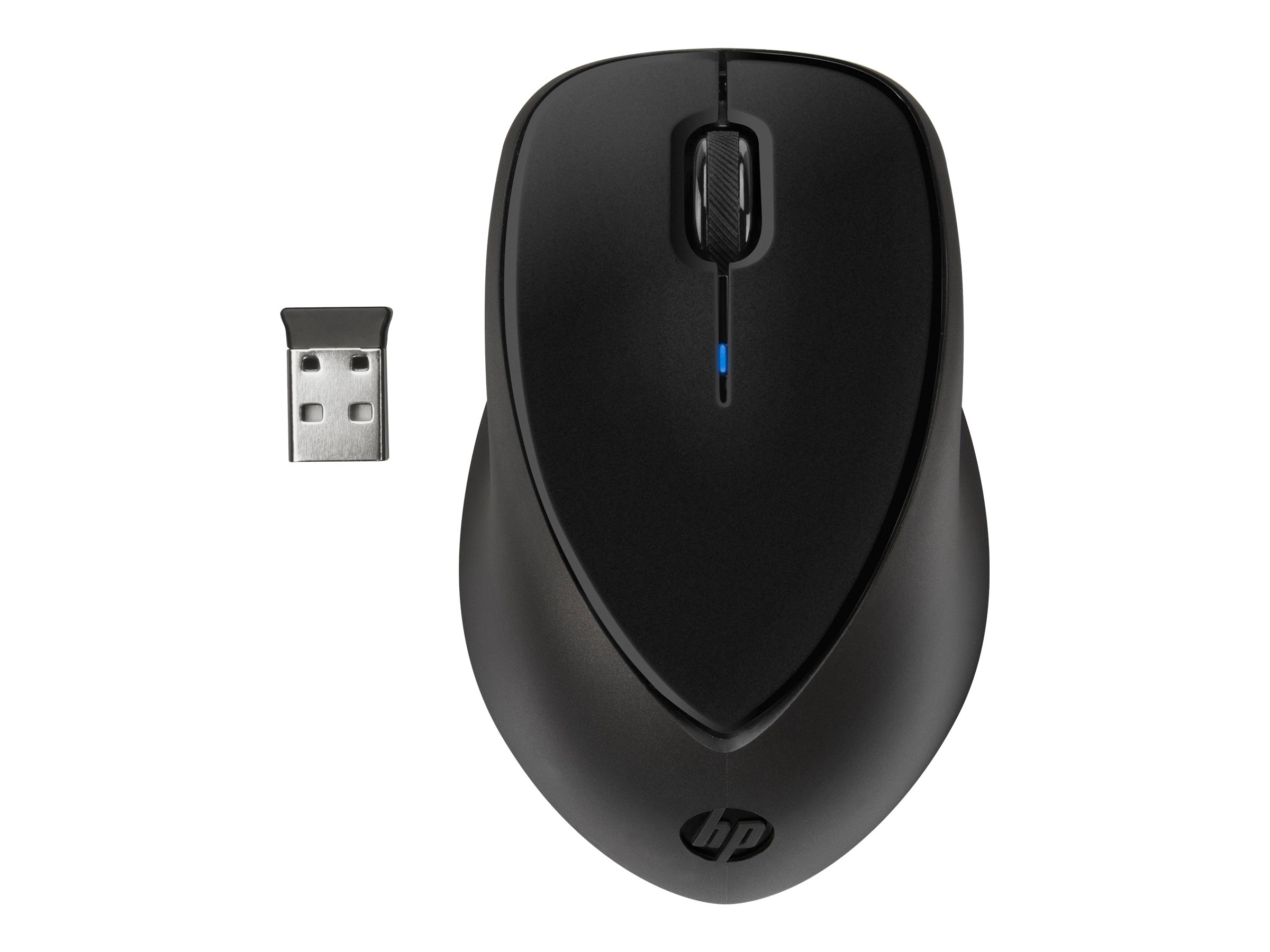 HP Wireless Comfort - mouse - 2.4 GHz
