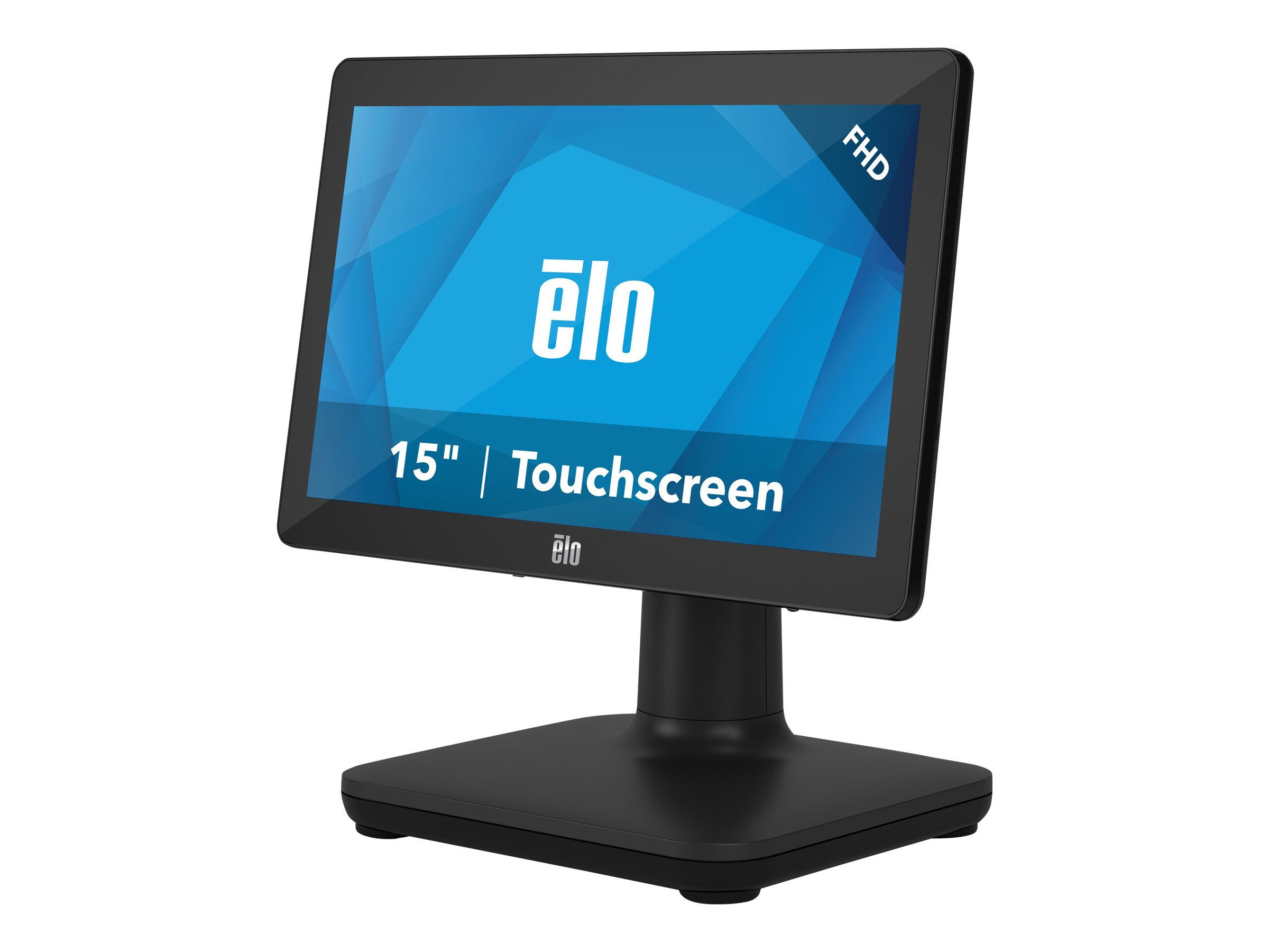EloPOS System - with I/O Hub Stand - all-in-one - Core i5 8500T 2.1 GHz - 8 GB - SSD 128 GB - LED 15.6
