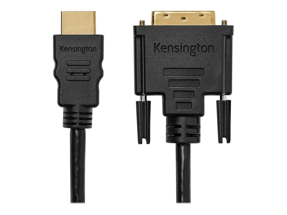 Kensington HDMI (M) to DVI-D (M) Passive Cable, 6ft - video cable - 6 ft