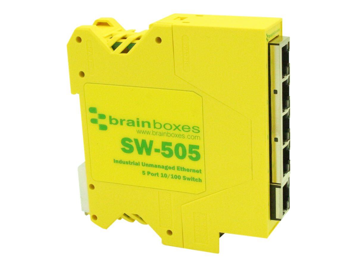 Brainboxes SW-505 - switch - 5 ports