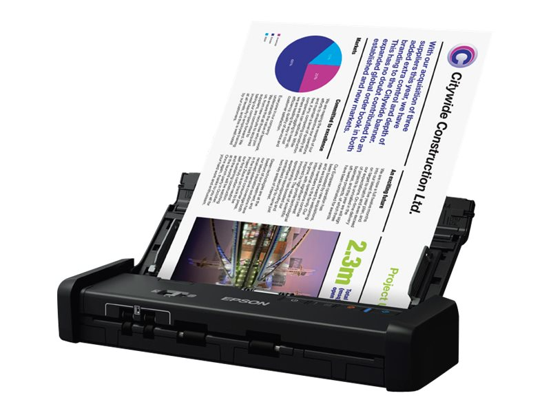 Epson WorkForce ES-200 - document scanner - portable - USB 3.0