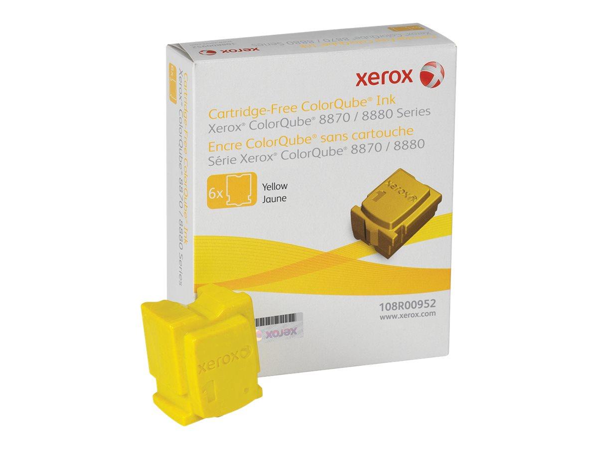 Xerox ColorQube 8870 - 6-pack - yellow - solid inks