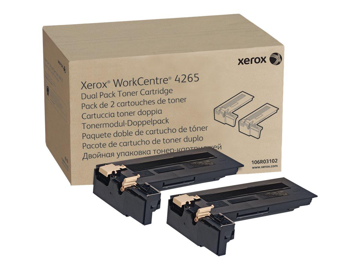 Xerox WorkCentre 4265 - 2-pack - Dual Capacity - black - original - toner cartridge