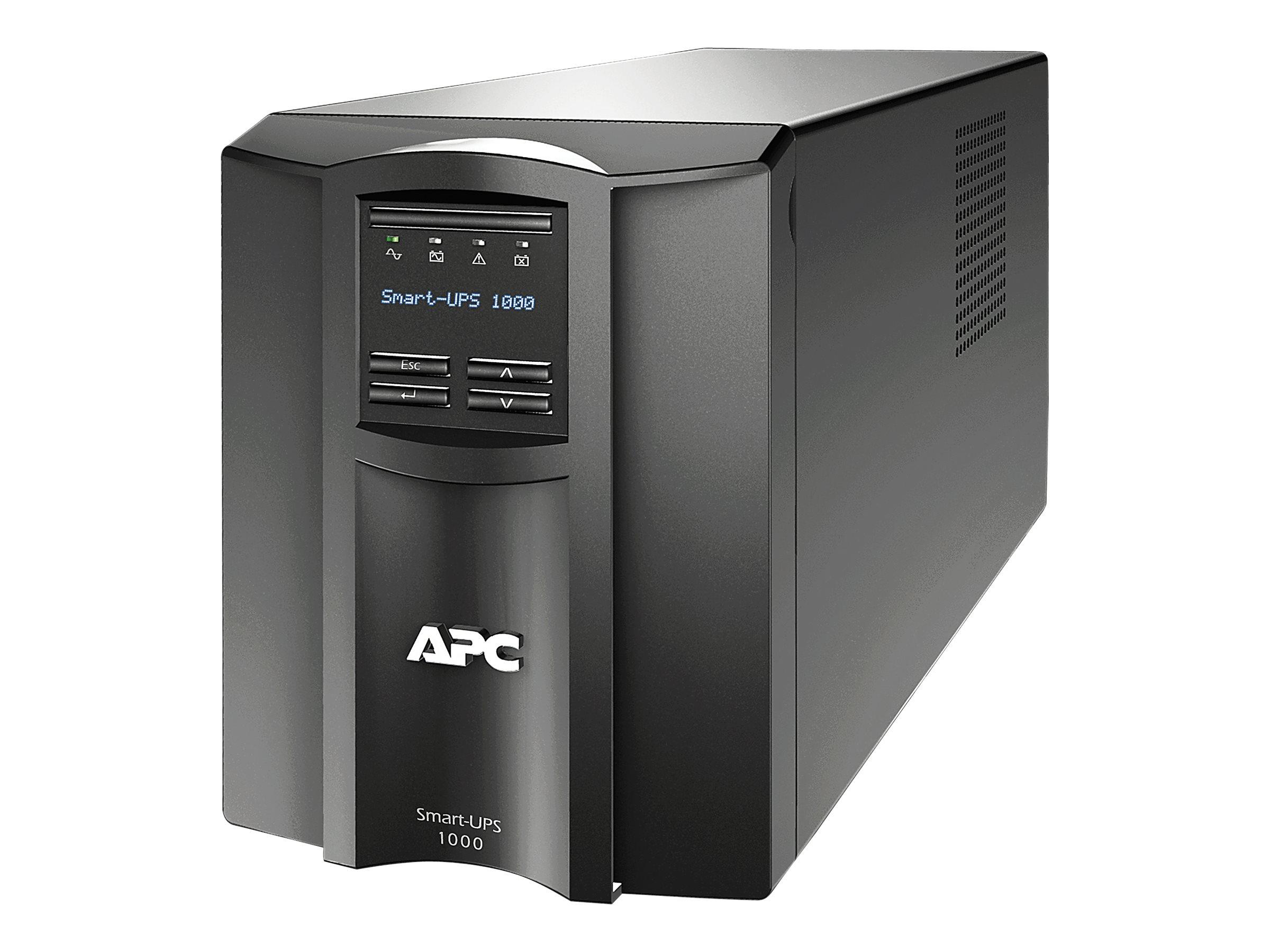 APC Smart-UPS 1000VA LCD - UPS - 700 Watt - 1000 VA - with APC SmartConnect