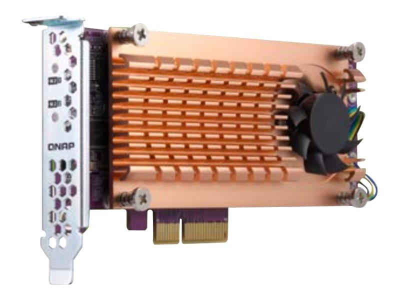 QNAP QM2-2P-384 - storage controller - PCIe 3.0 - PCIe 3.0 x8