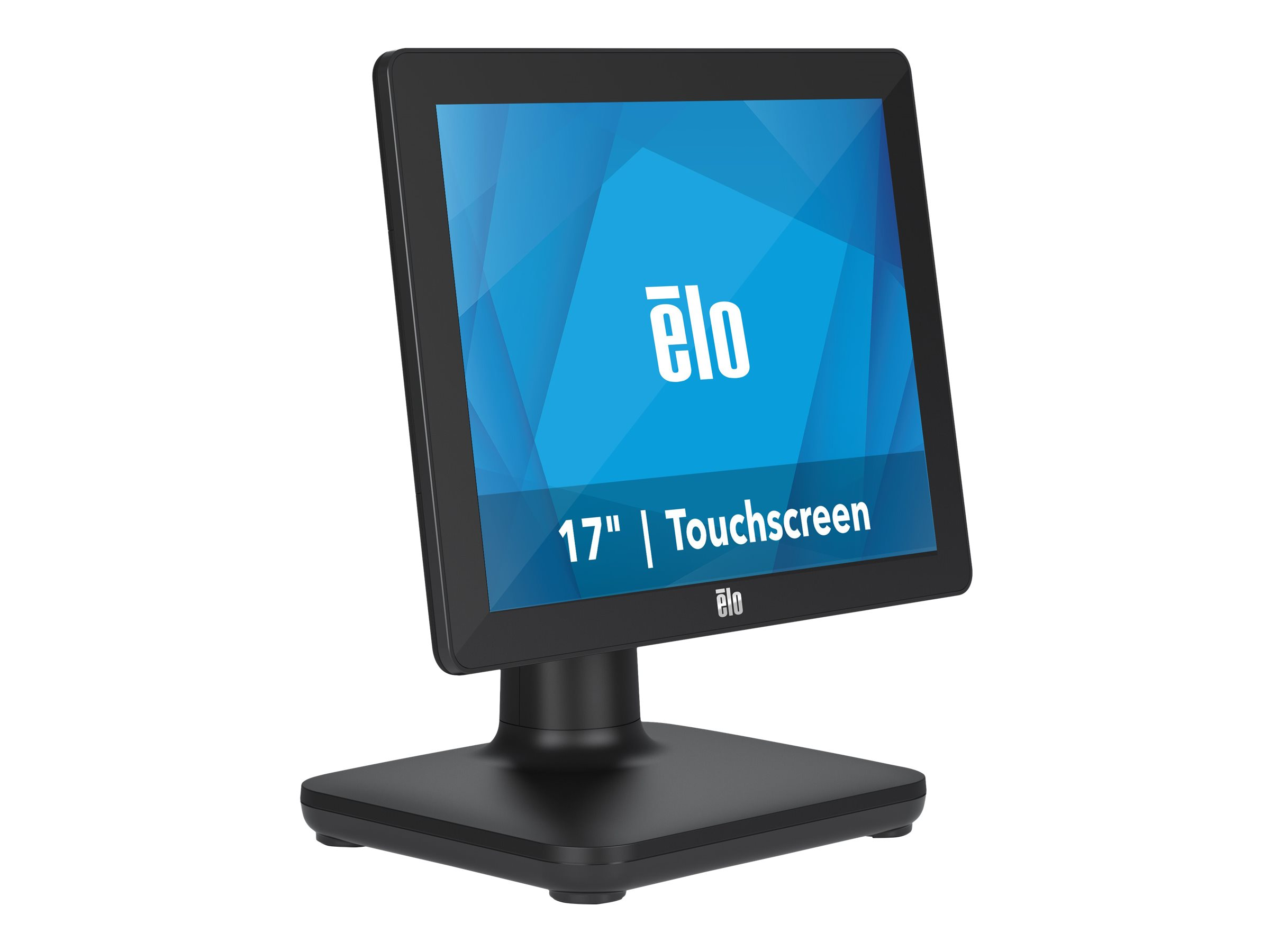 EloPOS System - with I/O Hub Stand - all-in-one - Core i3 8100T 3.1 GHz - 4 GB - SSD 128 GB - LED 17