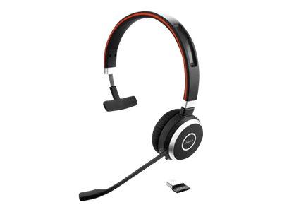 Jabra Evolve 65 UC mono - headset...