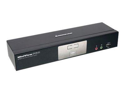 IOGEAR MiniView Dual Link DVI KVMP Pro with 7.1 Audio GCS1782G - KVM / audio / USB switch - 2 ports