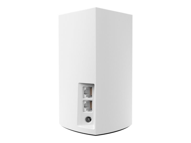 Linksys VELOP Whole Home Mesh Wi-Fi System WHW0101 - Wi-Fi system - 802.11a/b/g/n/ac, Bluetooth 4.1 - desktop